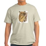 Tarsier Rain Forest (Front) Ash Grey T-Shirt