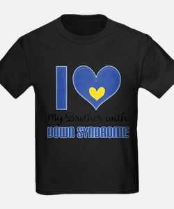 Down Syndrome Brother T-Shirt