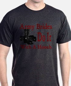 army brides do it with a hooah T-Shirt