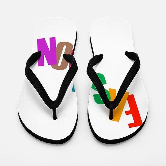 Cute For sale signs Flip Flops