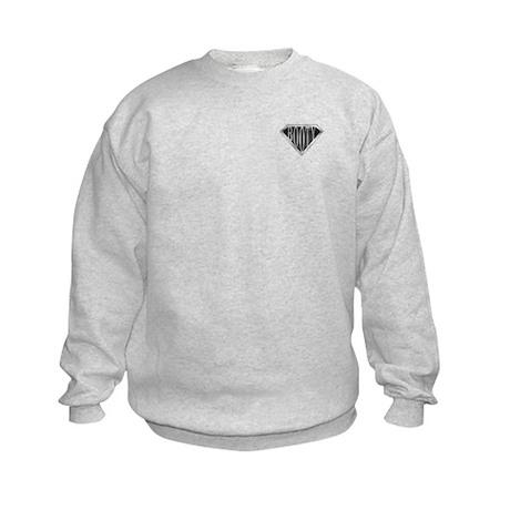 SuperBooty(metal) Kids Sweatshirt