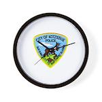 Kotzebue Alaska Police Wall Clock