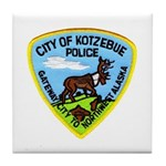 Kotzebue Alaska Police Tile Coaster