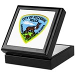 Kotzebue Alaska Police Keepsake Box