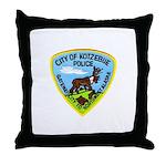 Kotzebue Alaska Police Throw Pillow
