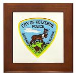 Kotzebue Alaska Police Framed Tile