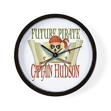 Captain Hudson Wall Clock