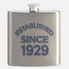 Established Since 1929 Flask