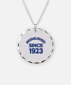 Established Since 1923 Necklace