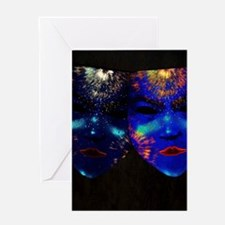 Cool Blacklight Greeting Card