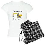 Excavator Operator Women's Light Pajamas