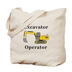 Excavator Operator Tote Bag