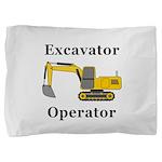 Excavator Operator Pillow Sham
