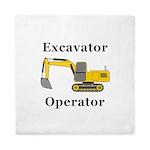 Excavator Operator Queen Duvet