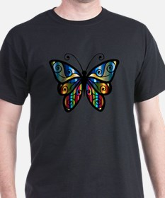 Cute Rainbow butterfly T-Shirt