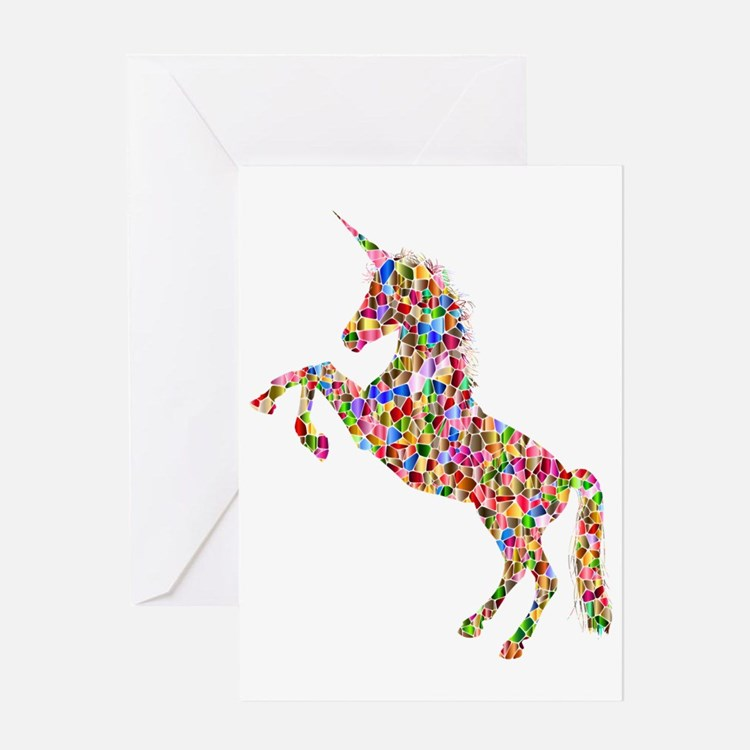 Cute Unicorn Greeting Card