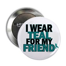 I Wear Teal For My Friend 5 Button