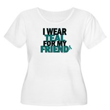 I Wear Teal For My Friend 5 T-Shirt
