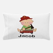 Jacob's Little Firefighter Pillow Case