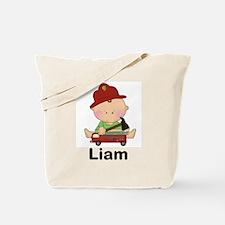 Laim's Little Firefighter Tote Bag