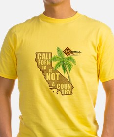 California T-Shirt (yellow)