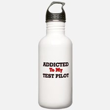 Addicted to my Test Pi Water Bottle
