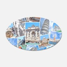 Italy Collage Wall Decal