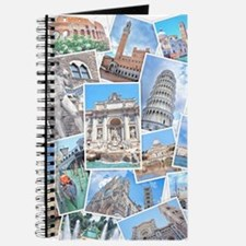 Italy Collage Journal