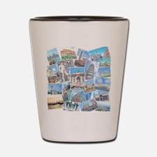 Italy Collage Shot Glass