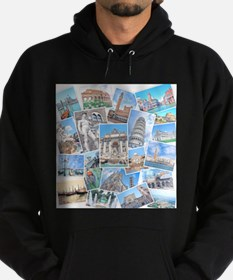 Italy Collage Hoody