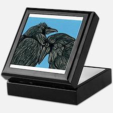 Raven Love Keepsake Box
