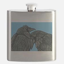 Raven Love Flask