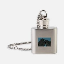Raven Love Flask Necklace