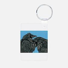 Raven Love Keychains