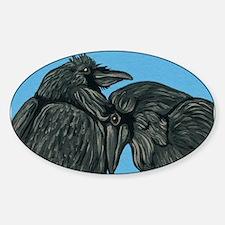Raven Love Decal
