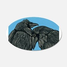 Raven Love Decal Wall Sticker
