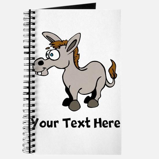 Cartoon Donkey (Custom) Journal