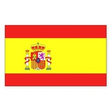 Spain Rectangle Decal