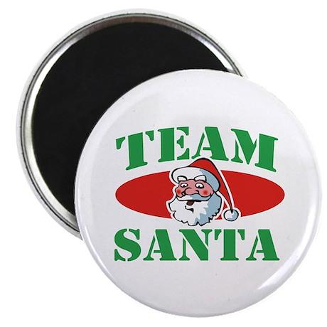 Team Santa Christmas Magnet