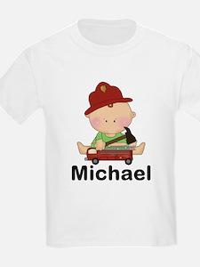 Michael's Little Firefighter T-Shirt