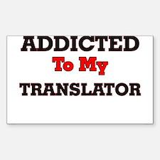 Addicted to my Translator Decal
