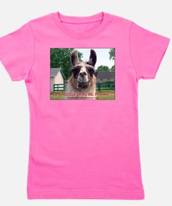 Funny Camelid Girl's Tee