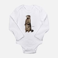 Woodchuck Animal Infant Creeper Body Suit