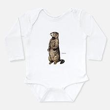 Woodchuck Animal Infant Creeper Body Suit