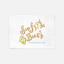 Surfside Beach - 5'x7'Area Rug
