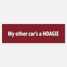 My other Car's a Hoagie Bumper Bumper Bumper Sticker