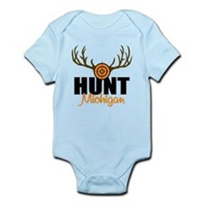 Hunt Michigan Infant Bodysuit