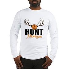 Hunt Michigan Long Sleeve T-Shirt