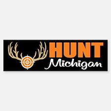 Hunt Michigan Bumper Bumper Bumper Sticker