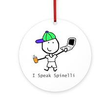 Geek - Spinelli Ornament (Round)